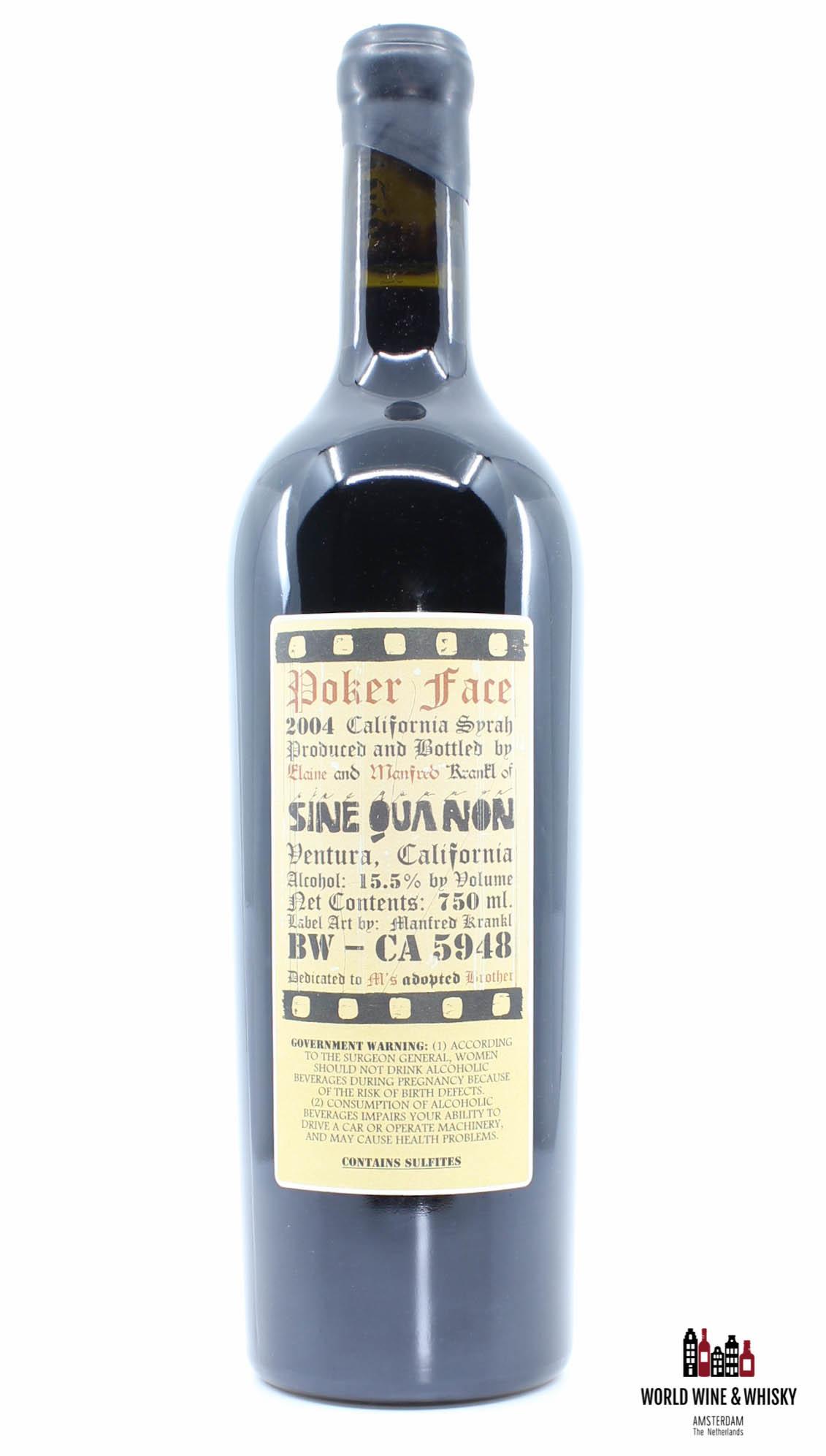 Sine Qua Non The Dual Wooden Wine-Box Cover