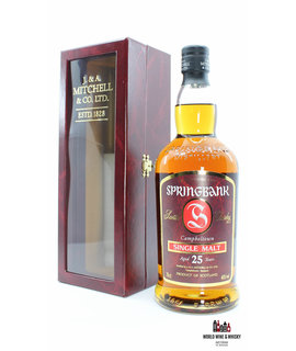 Springbank Springbank 25 Years Old 1981 2006 Red Single Malt 46% (1 of 1200)