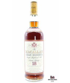 Macallan Macallan Gran Reserva 18 Years Old 1980 1999 Sole U.S.A. Distributor, Remy Amerique Inc. New York, N.Y. 750ml