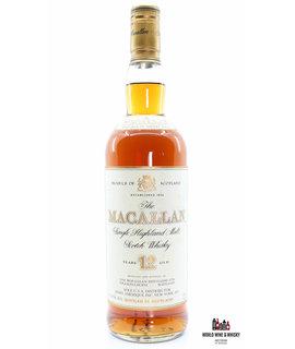 Macallan Macallan 12 Years Old Sherry Wood - USA Edition - Sole U.S.A. Distributor, Remy Amerique Inc. New York, N.Y. 750ml