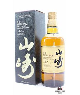 Yamazaki The Yamazaki 12 Years Old - Single Malt Japanese Whisky (in new black box)
