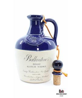 Ballantine's Ballantine's Finest Scotch Whisky - Blue/White Ceramic Jug