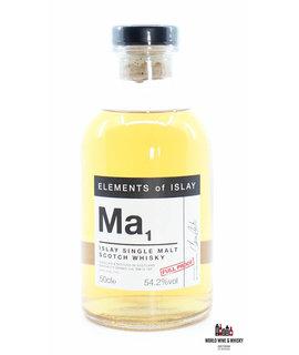 Bunnahabhain Ma1 Elements of Islay Bunnahabhain - Margadale 12 Years Old 2004 2016 54.2% 500 ml