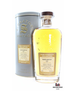 North British North British 14 Years Old 1991 2006 - Cask 259482 -  Signatory Vintage 53.3%