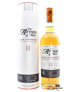 Arran Arran 12 Years Old 2011 - Cask Strength - Batch Number 1 54.1% (1 of 12000)