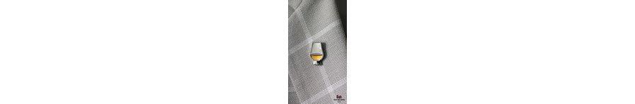 Whisky badges en sleutelhangers
