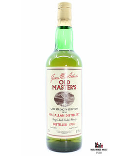 Macallan Macallan 1980 2001 - Old Master's - Cask Strength Selection - Cask 16457 57.8%