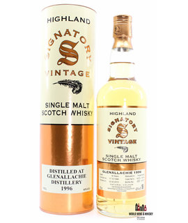 Glenallachie Glenallachie 16 Years Old 1996 2013 - Cask 5235 + 5244 - Signatory Vintage 43% (1 of 827)