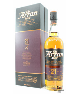 Arran Arran 21 Years Old 2018 46% (1 of 9000)