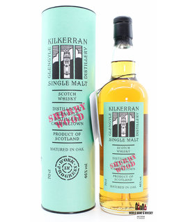 Glengyle Kilkerran 2015 - Work in Progress - 7th Release - Sherry Wood 46% (1 of 12000)