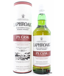 Laphroaig Laphroaig PX Cask - Triple Matured - Global Travel Exclusive 1 Liter (1000 ml)