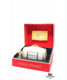 Hennessy Hennessy Cognac Napoleon - Bernardaud Limoges - Decanter Cask 70's/80s bottling 40%