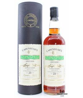 Glenglassaugh Glenglassaugh 23 Years Old Cadenhead 1984 2007 46.0%