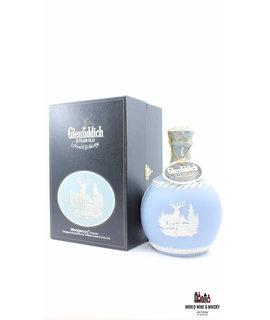 "Glenfiddich Glenfiddich 21 Years Old 1987 - Blue Wedgwood ""Jasper"" Decanter 43% 750ml (in luxury case)"
