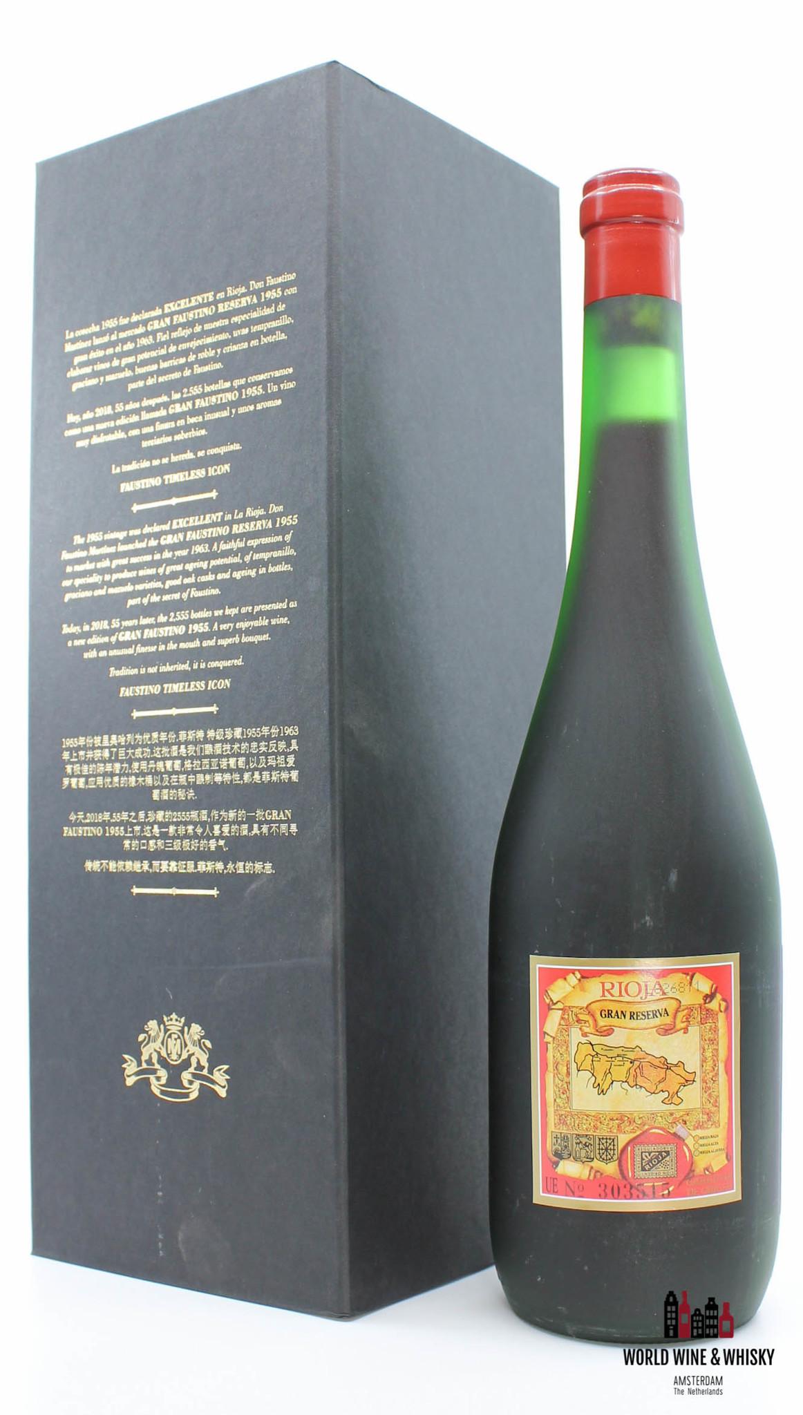 Gran Faustino Gran Faustin Gran Reserva 1955 Rioja (1 of 2555)