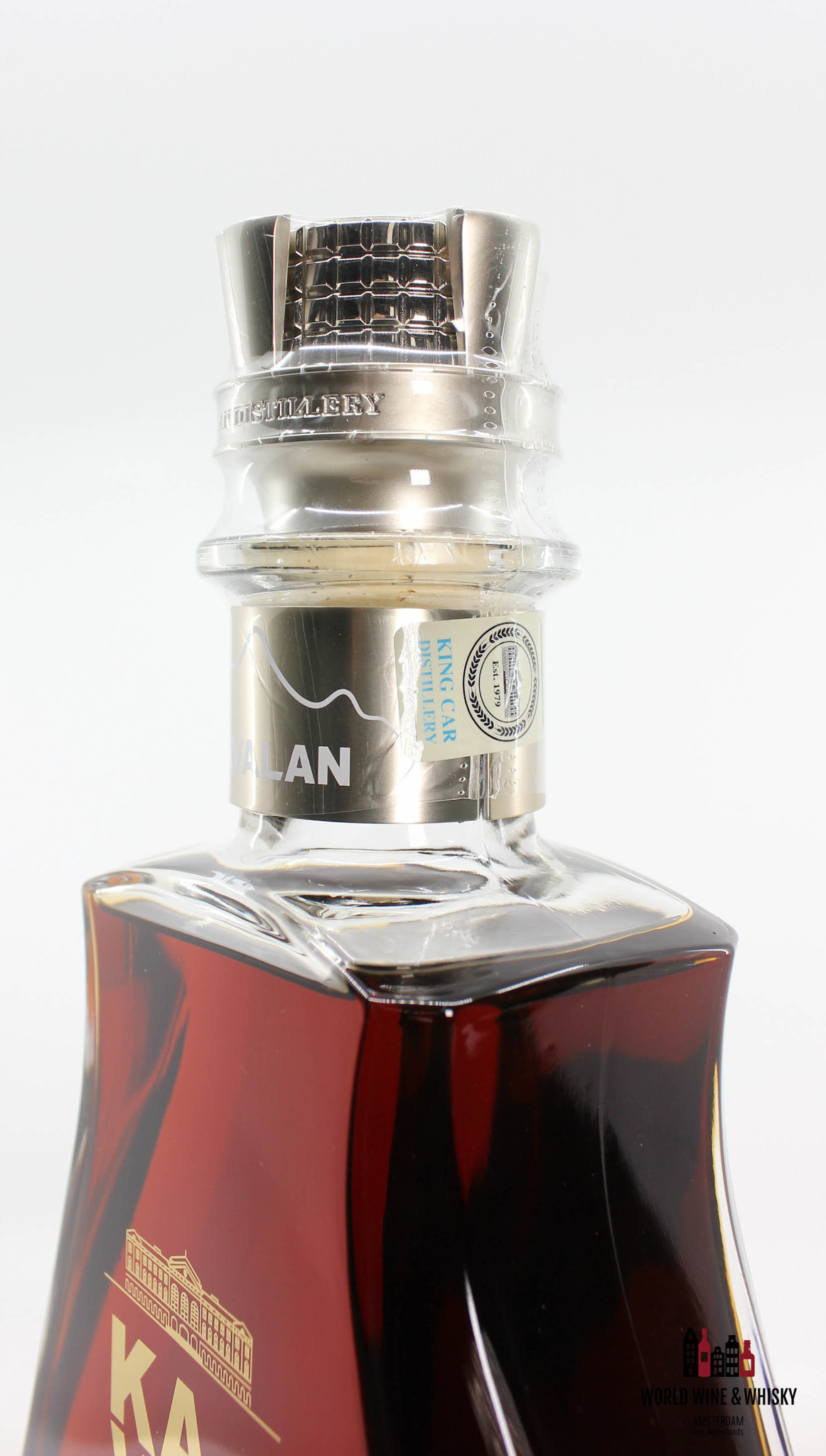 Kavalan Kavalan 2020 - 40th Anniversary Limited Edition - Selected Wine Cask Matured - Cask LF121122027A 56.3% (1 of 99)