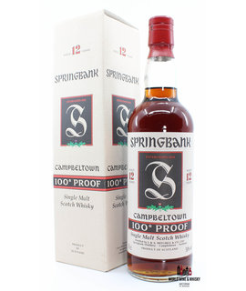 Springbank Springbank 12 Years Old 100° Proof Green Thistle 50% 700ml (in cardboard case)