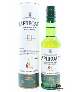 Laphroaig Laphroaig 21 Years Old 1993 2015 - Friends of Laphroaig 48.4% 350ml