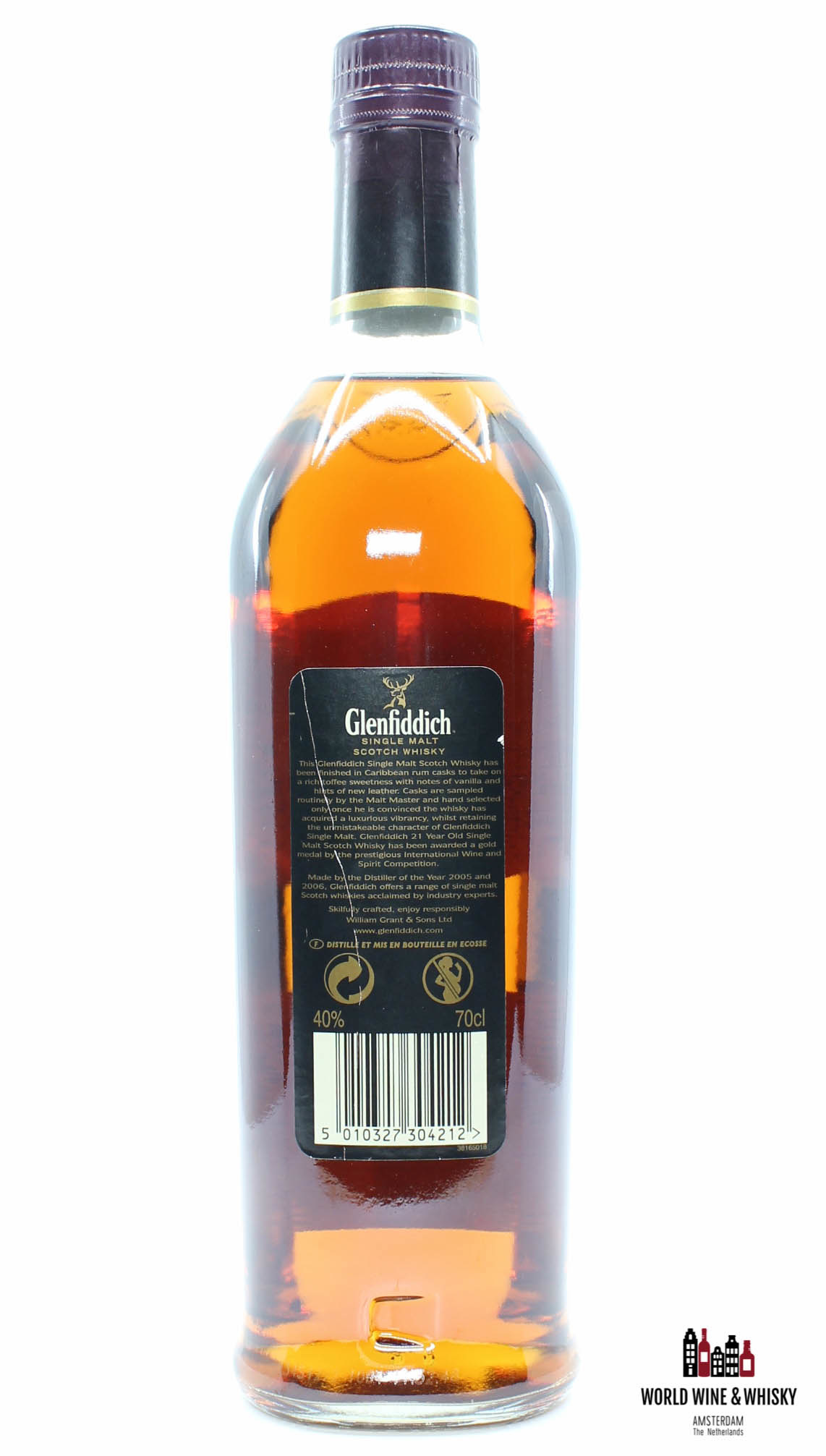 Glenfiddich Glenfiddich 21 Years Old - Caribbean Rum - Cask Selection 22 40% 700ml