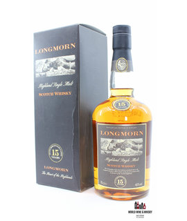 Longmorn Longmorn 15 Years Old - The Heart of the Highlands 45% 700ml