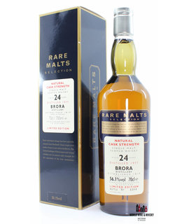 Brora Brora 24 Years Old 1977 2001 Rare Malts Selection 56.1% (1 of 6000)