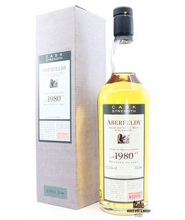 Aberfeldy Aberfeldy 1980 1997 - Flora & Fauna - Limited Bottling 62%