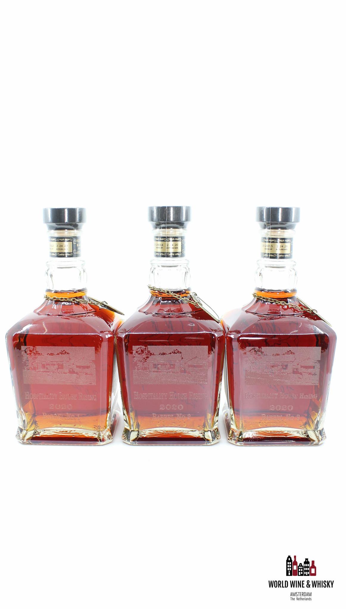 Jack Daniel's Jack Daniel's Select - Single Barrel - Hospitality House Rising 2020 - Barrel 1, 2 & 3 (full set)