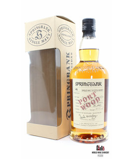 Springbank Springbank 14 Years Old 1989 2004 - Port Wood - Wood Expressions 52.8% (1 of 7200)