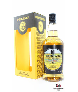Springbank Springbank 9 Years Old 2009 2018 - Local Barley 57.7% (1 of 9700)