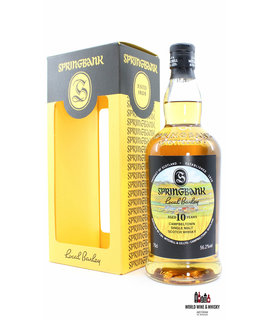 Springbank Springbank 10 Years Old 2009 2019 - Local Barley 56.2% (1 of 9000)