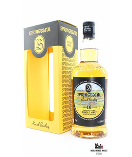 Springbank Springbank 16 Years Old 1999 2016 - Local Barley 54.3% (1 of 9000)