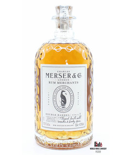 Merser & Co Charles Merser & Co Double Barrel Rum - Batch 107-AH4 43.1%