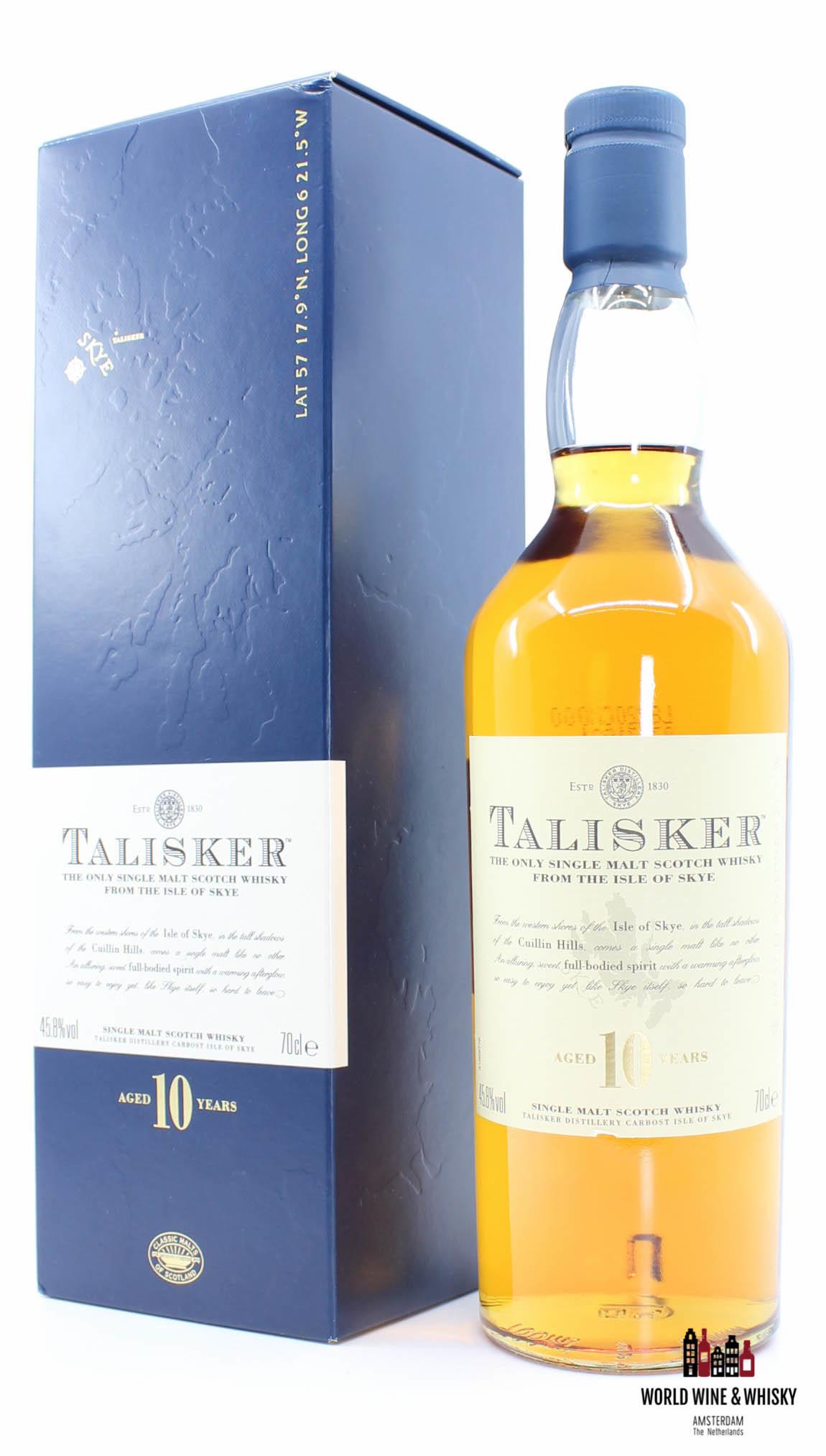 Talisker Talisker 10 Years Old 2008 - Isle of Skye 45.8% 700ml