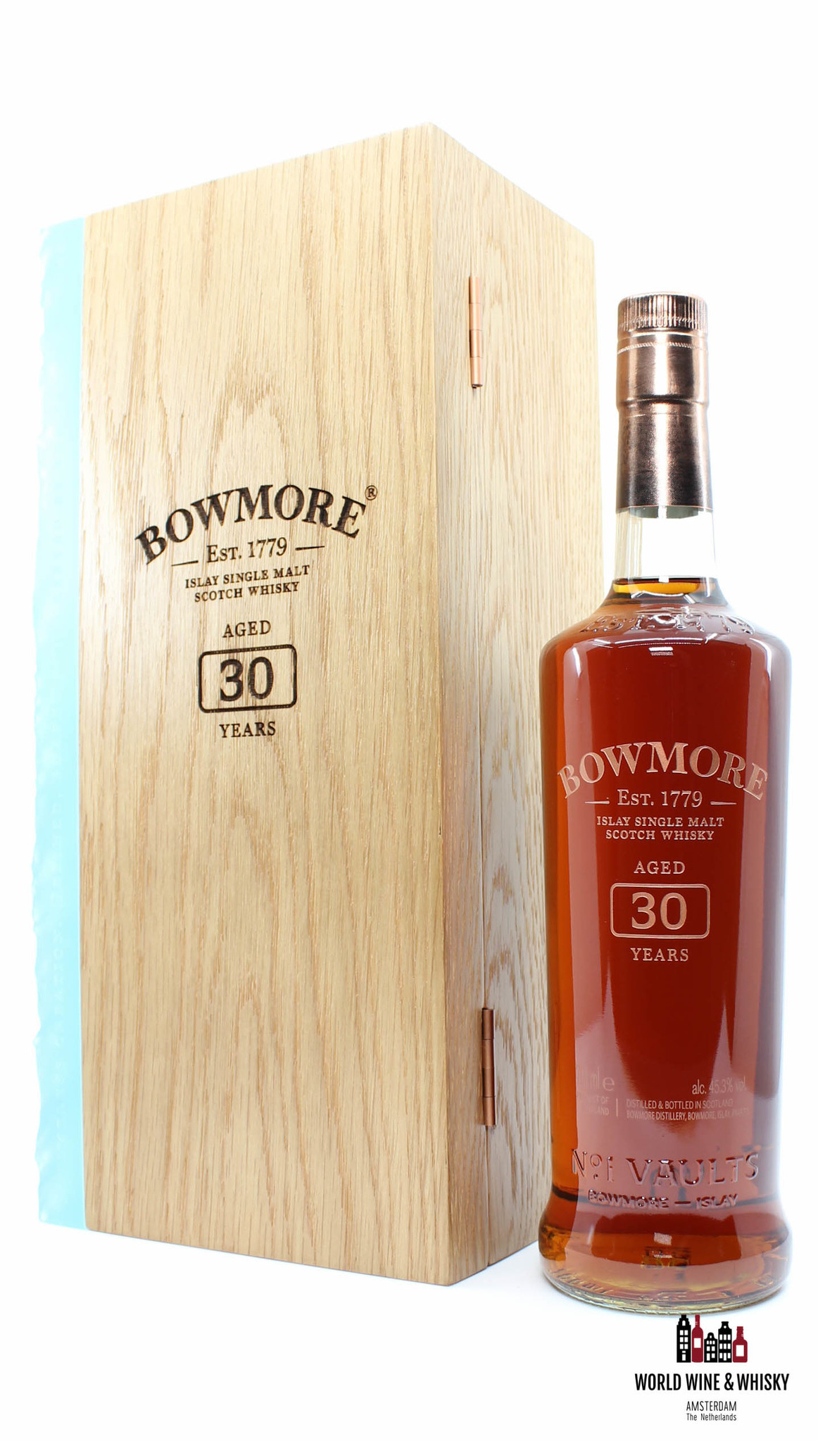 Bowmore Bowmore 30 Years Old 1989 2020 45.3% (1 of 2580) - Full Set