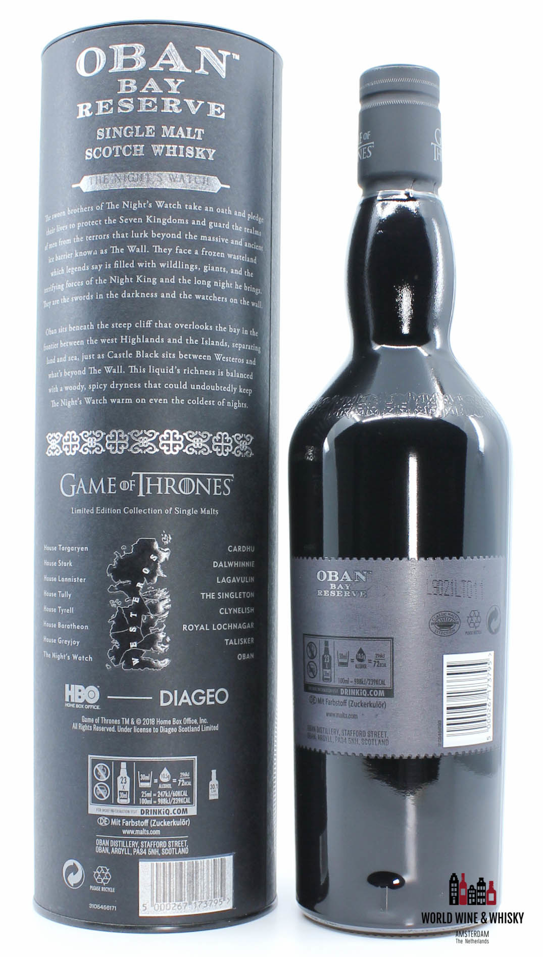 Oban Oban 2019 - Game of Thrones - The Night's Watch 43%