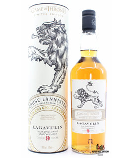 Lagavulin Lagavulin 9 Years Old 2019 - Game of Thrones - House Lannister 46%