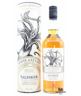 Talisker Talisker 2019 - Game of Thrones - Select Reserve - House Greyjoy 45.8%