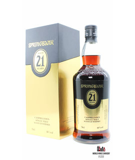Springbank Springbank 21 Years Old 2020 - Limited Edition - Black/Gold Edition 46% (1 of 3300)