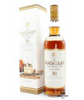 Macallan Macallan 10 Years Old - Sherry Oak Casks From Jerez 40% (90s bottling)