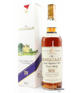 Macallan Macallan 18 Years Old 1978 1996 - Giovinetti & Figli Import Italia 43% 700ml