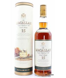 Macallan Macallan 15 Years Old 1984 - Sherry Oak Casks from Jerez  43% 700ml