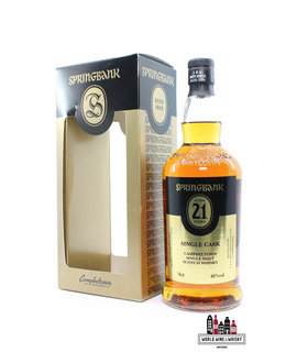 Springbank Springbank 21 Years Old 1995 2016 - Fourcroy Nederland - Black/Gold Edition 48% (1 of 336)