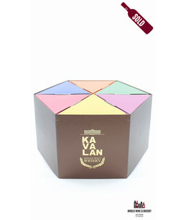 Kavalan Kavalan Still Miniature Gift Pack Single Malt Whisky 6 x 5cl 54% (in luxury giftbox)
