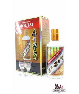 Kweichow Moutai Kweichow Moutai Small Batch - Duty Free Exclusive 53% 375ml (National Famous Liquor of China)