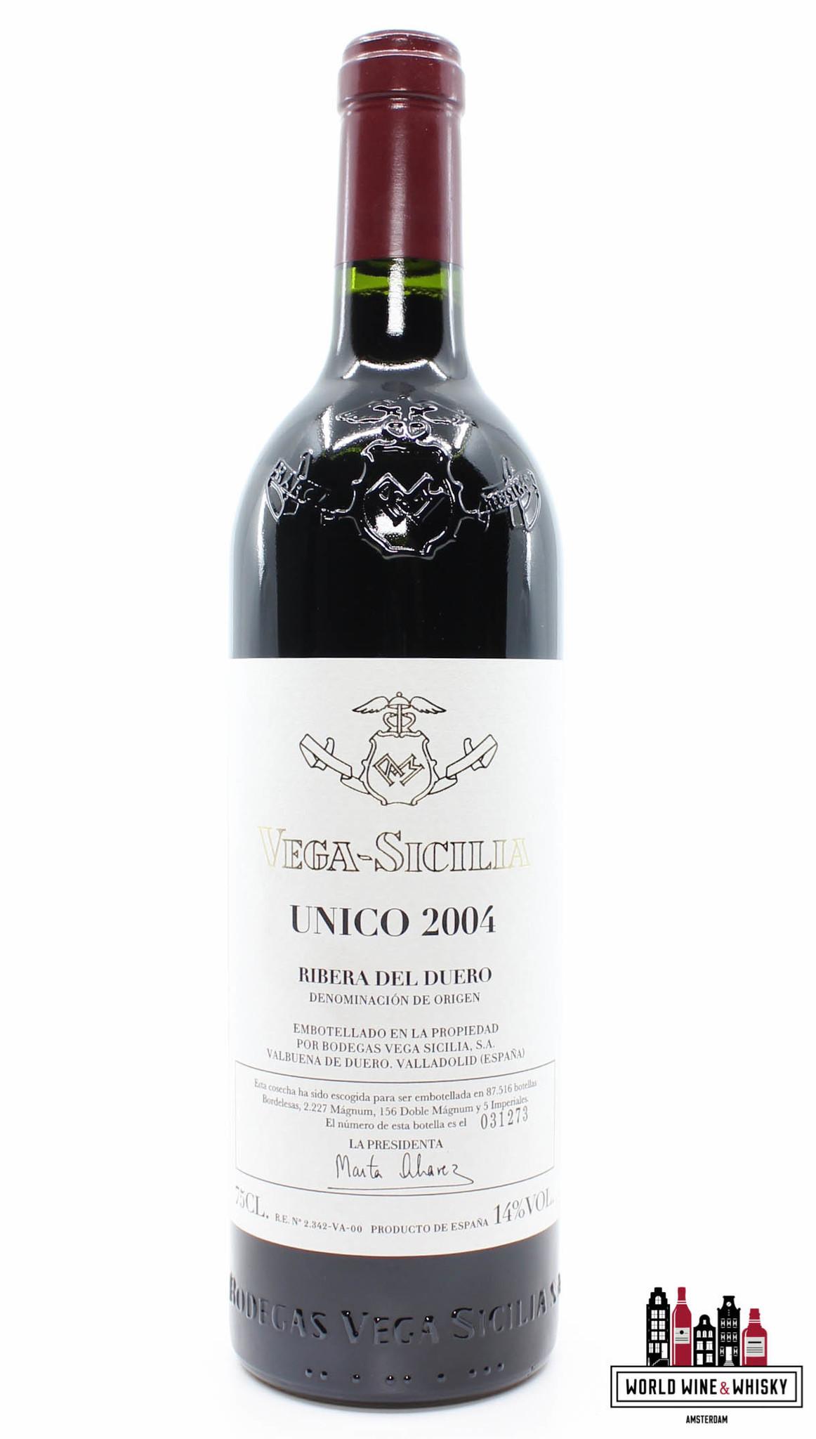 Vega Sicilia Unico Ribera Del Duero 2004 In The 3 Bottles Owc World Wine Whisky