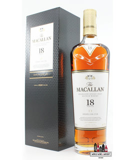 Macallan Macallan 18 Years Old 2020 - Sherry Oak Cask 43%