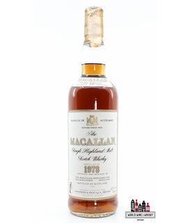 Macallan Macallan 18 Years Old 1978 1996 - Giovinetti & Figli Import Italia 43% 700ml