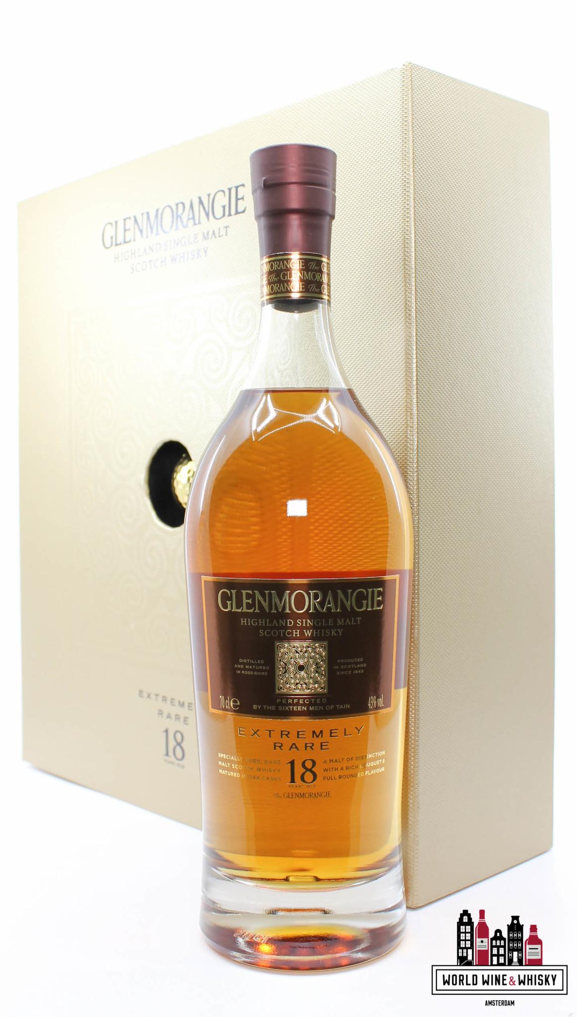 Glenmorangie Glenmorangie 18 Years Old 2013 - Extremely Rare - The Open Muirfield 43% (full set)