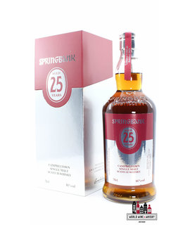 Springbank Springbank 25 Years Old 2021 Limited Edition - Red/Silver Edition 46% (1 of 1400)