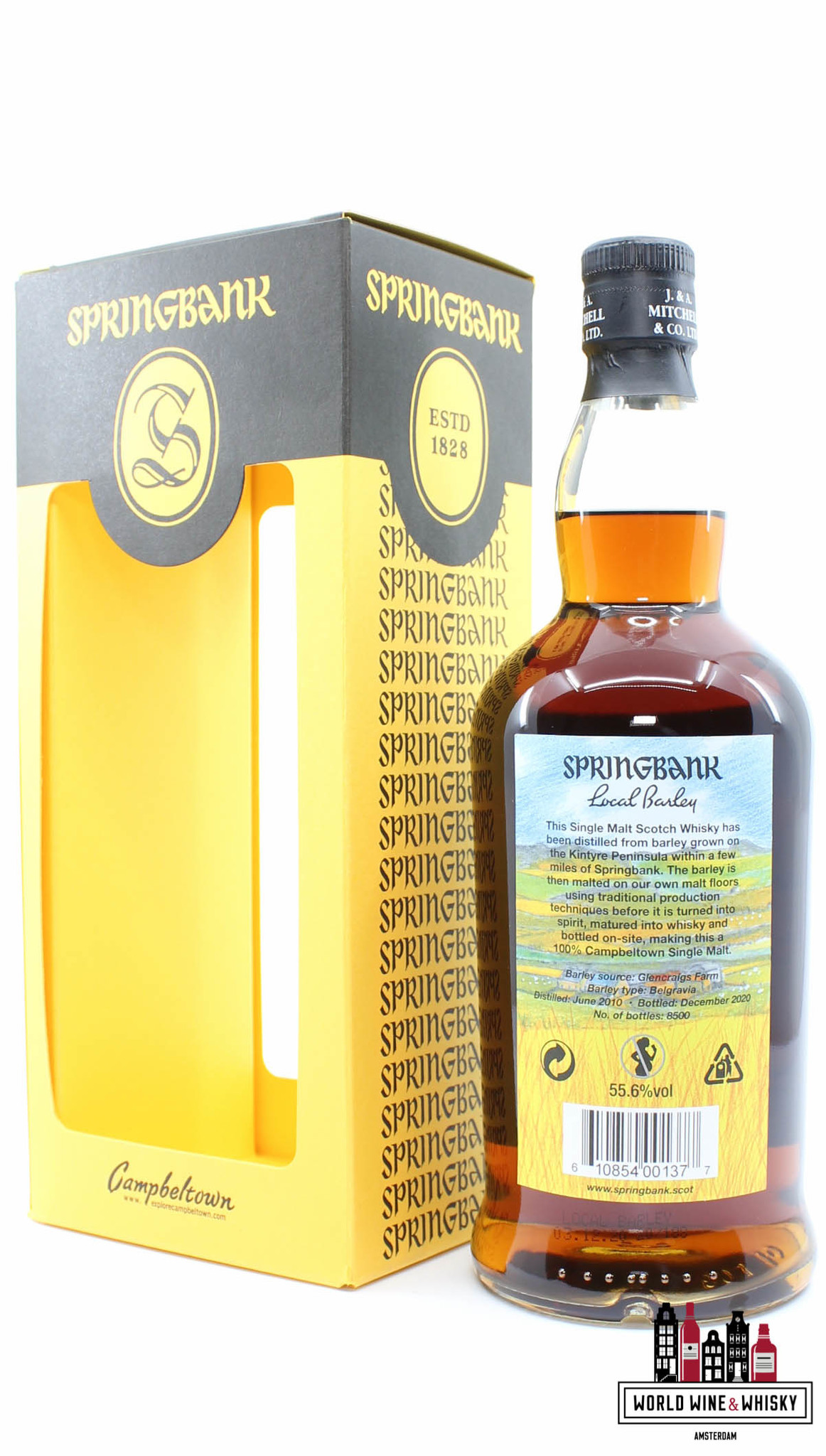 Springbank Springbank 10 Years Old 2010 2020 - Local Barley 55.6% (1 of 8500)